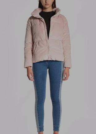 """Продам велюровую курточку""""цвета пудры"""""""