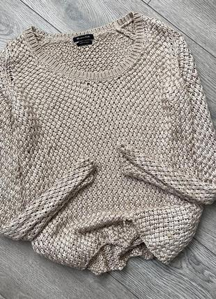 Вязаная кофта свитер massimo dutti