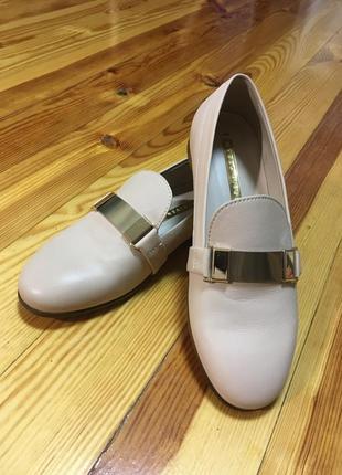 Шкіряні туфлі {лофери} modus vivendi