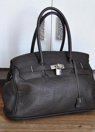 Кожаная сумка borse in pelle / шкіряна сумка