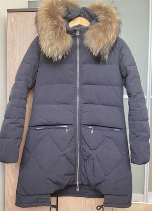 Красивый пуховик куртка зимняя