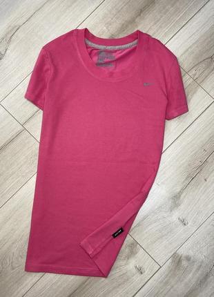 Хлопковая футболка nike