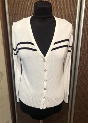 Шикарный винтажный кардиган люкс бренд