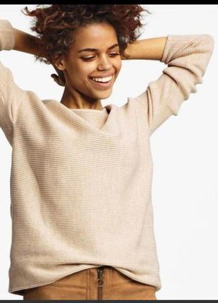 Хлопковый свитер от немецкого бренда эсмара, коллекции хайди клум