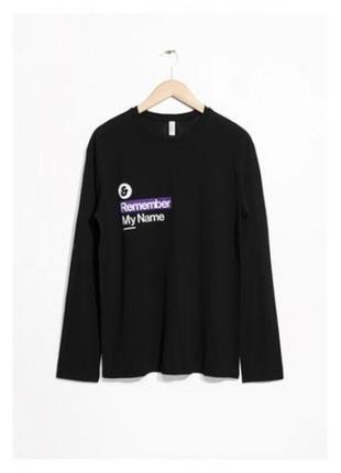 Лонгслив футболка кофта oversize &other stories