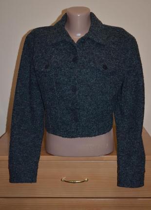 Стильный укороченный жакет пиджак kenzo