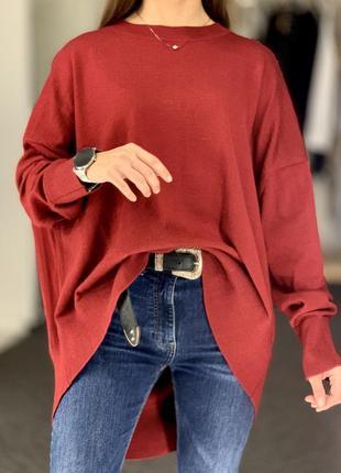 Шерстяной оверсайз свитер cos❤️ размер 36-38