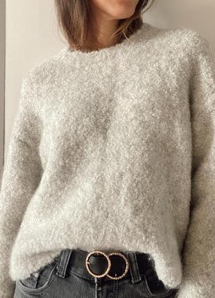 Очень теплый натуральный свитер от cos
