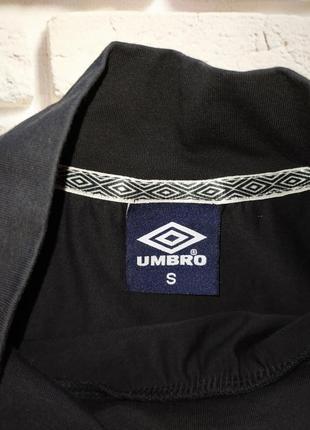 Umbro кроптоп свитшот футболка с лампасами4 фото