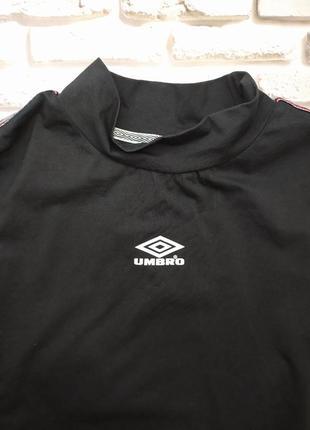 Umbro кроптоп свитшот футболка с лампасами9 фото
