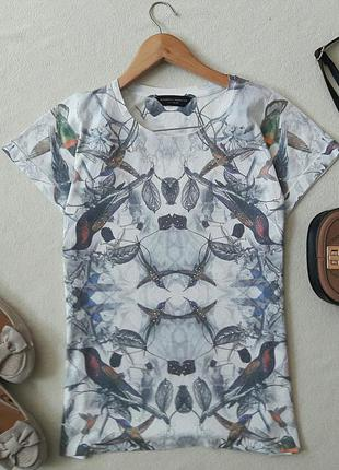 Модная футболка с птицами dorothy perkins