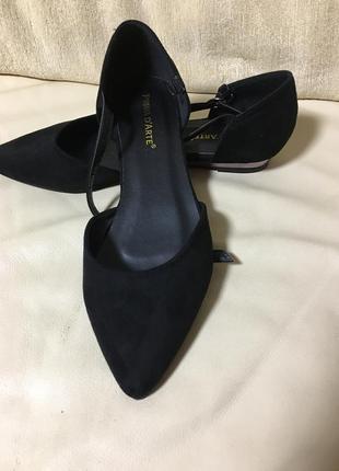 Туфли замшевые. раз 41