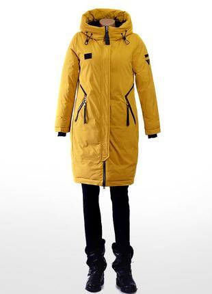 Куртка парка тёплая женская olanmear 505