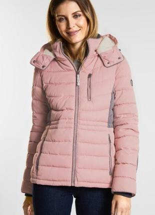 Классная фирменная зимняя куртка от немецкого бренда cecil, xl