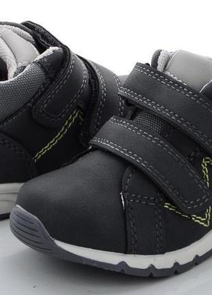 Кроссовки ботинки 22-27 р на липучке