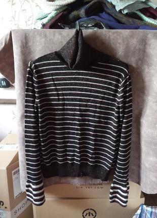Гольф-светр з люрексом
