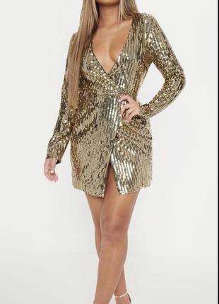 Нарядное платье пайетки паетки