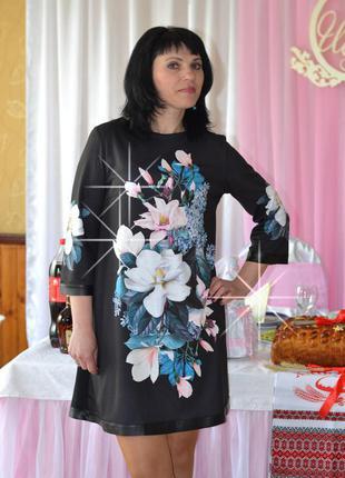 Платье магнолии (s,m,l)