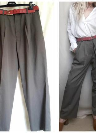 Трендовые брюки/ штаны бананы шерсть