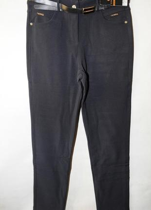 Женские брюки батал на флисе