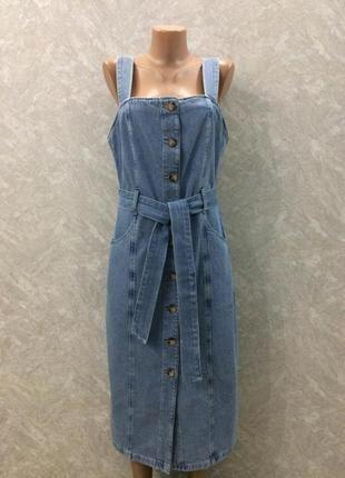 Платье джинсовое denim co