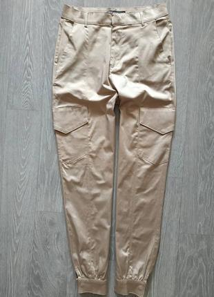 Атласные брюки карго от zarа