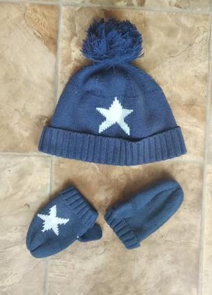 Теплые демисезонные шапки