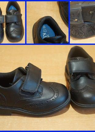M&s кожаные ботинки  24 размер 15,5 см стелька туфли
