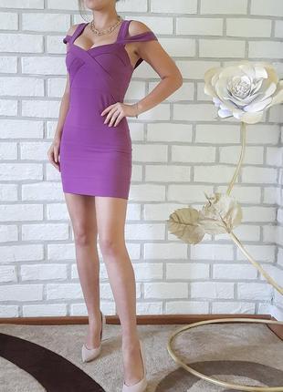 Бандажне плаття topshop's мини красивое нарядное платье