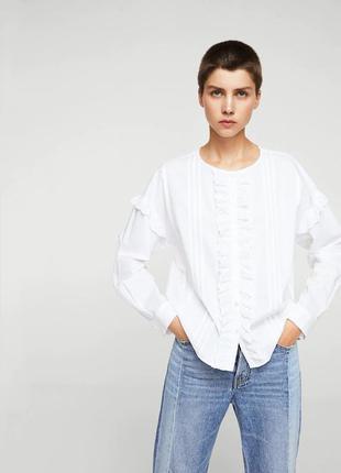 Рубашка mango - размер xs