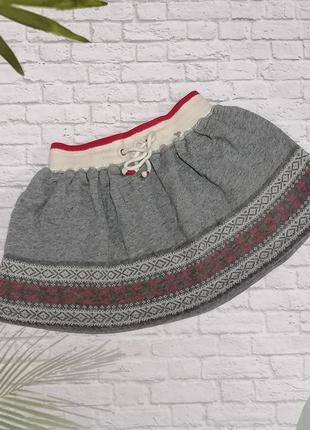 Теплая юбка polo ralph lauren на 3 года