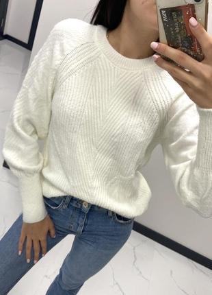 Тёплая кофта свитер акрил