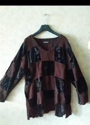 Блуза туника бохо винтаж