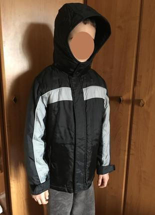 Теплая демисезонная осенняя куртка m&s