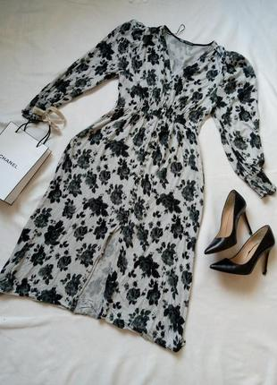 Шикарне плаття-халат від zara