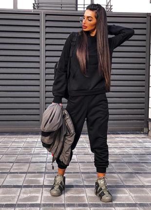 Костюм женский штаны кофта набор прогулочный спортивный костюм теплый