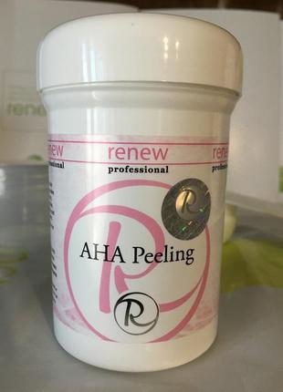 Renew пилинг с альфа гидрокислотами aha peeling
