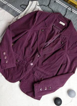 Вельветовый пиджак жакет bonita