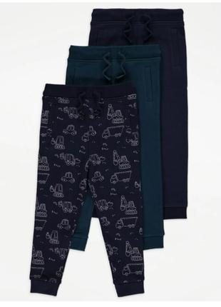 Спортивные штаны джоггеры мальчику рр.98-116 george (джордж)