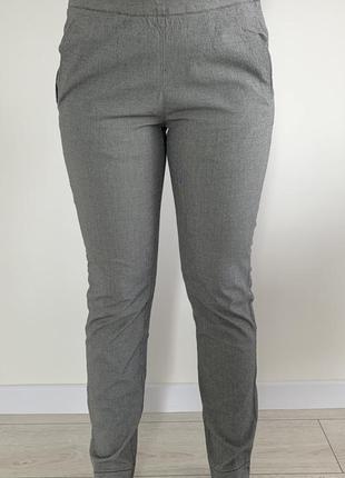 Штани жіночі, сірі штани, брюки, серые классические брюки, стильные.