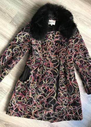 Пальто демисезонное 38 размер
