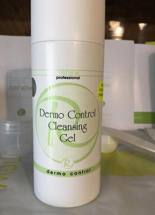 Renew очищающий гель для жирной и проблемной кожи  dermo control cleansing gel распив