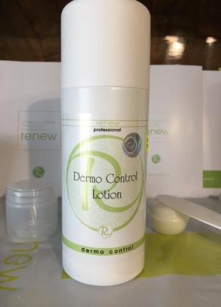 Renew лосьон для жирной и проблемной кожи  dermo control lotion распив
