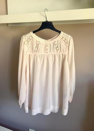 Шикарная батистовая блуза