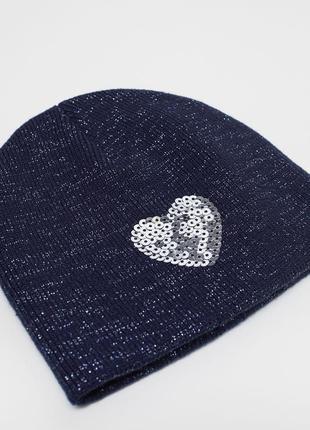 Красивая деисезонная шапочка h&m