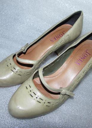 Распродажа ! туфли натуральная кожа ~ jones bootmaker ~ англия р 36