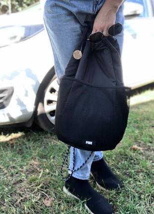 Рюкзак виктория сикрет пинк