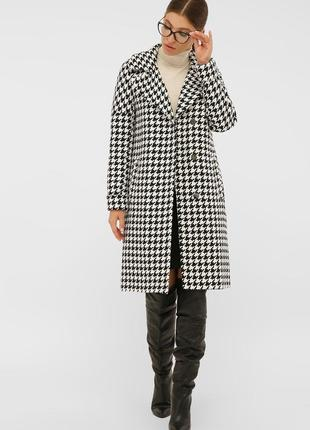 Скидка!!! стильное пальто прямого силуэта * отличное качество