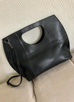 Кожаная сумка borse in pelle кожа
