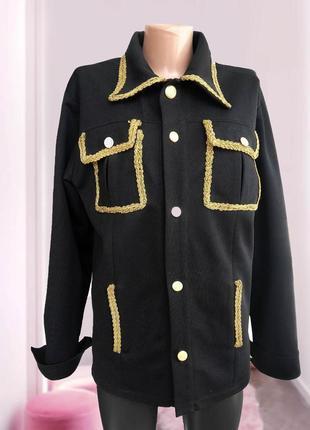 Пиджак в стиле dg versace
